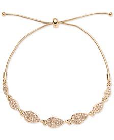 Pavé Pear-Shape Slider Bracelet