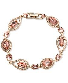 Crystal & Stone Flex Bracelet