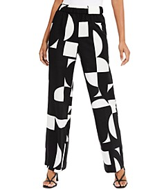 Printed Palazzo Pants, Created for Macy's