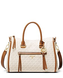 Signature Carine Medium Satchel