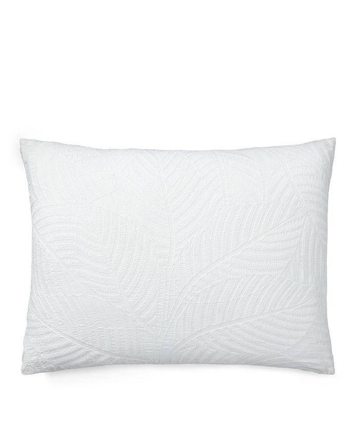 Lauren Ralph Lauren - Leaf Embroidery Throw Pillow