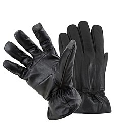 Men's Leather Smart Gloves
