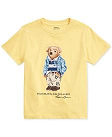 Big Boys Chino Bear Cotton Jersey T-Shirt