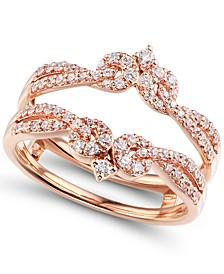 Diamond (1/2 ct. t.w.) Ring Enhancer in 14K Rose Gold