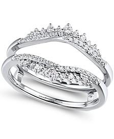 Diamond (1/3 ct. t.w.) Ring Enhancer in 14K White Gold