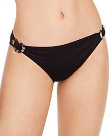 Side-Buckle Classic Bikini Bottoms