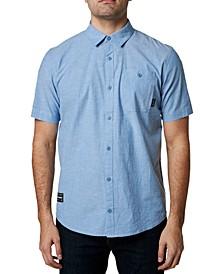 Men's Baja Chambray Stretch Short Sleeve Shirt