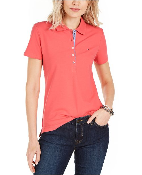 Tommy Hilfiger Logo-Embroidered Polo Shirt, Created for Macy's