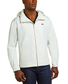 Men's Long Sleeve Full Zip Water Resistant Windbreaker