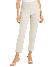 Zipper-Hem Skinny Ankle Pants, Created for Macy's