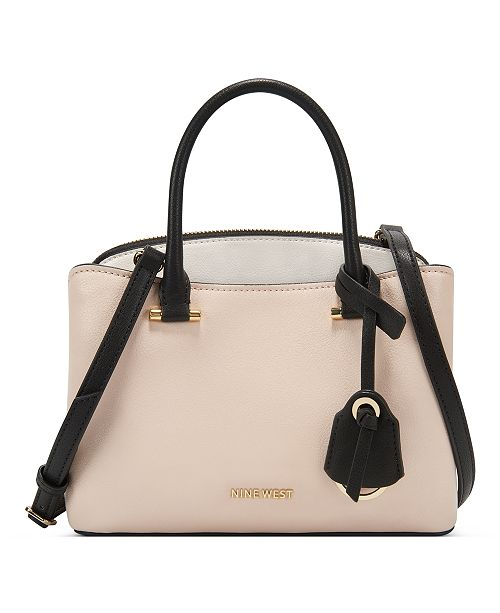 Nine West Eloise Jet Set Small Satchel