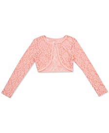 Toddler Girls Lace Cardigan Sweater