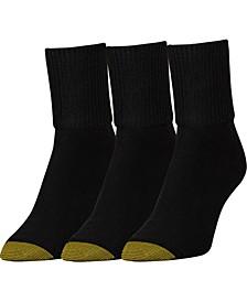 GOLDTOE® Women's 3-Pk. Extended Bermuda Socks