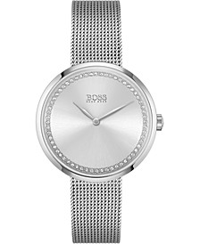 Women's Praise Stainless Steel Mesh Bracelet Watch 36mm