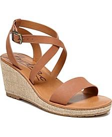 Emilia Wedge Sandals