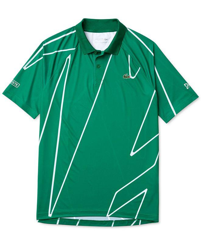 Lacoste Men's Novak Djokovic Ultra-Dry Polo Shirt