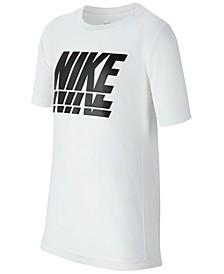 Big Boys Dri-FIT Logo-Print T-shirt