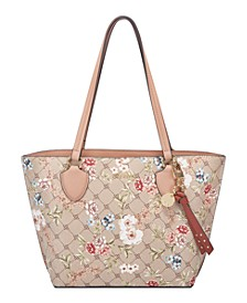 Payton Small Floral Tote