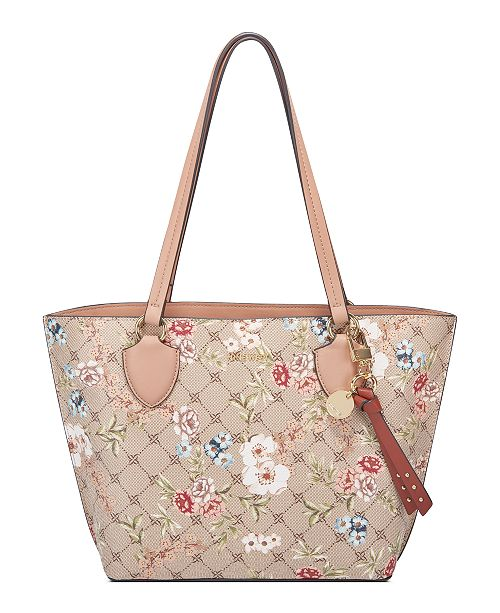 Nine West Payton Small Floral Tote