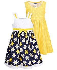 Little Girls 2-Pack Daisy Sundresses
