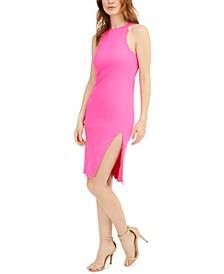 Side-Slit Bodycon Dress