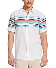 Men's Horizontal Stripe Shirt