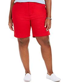 Tommy Hilfiger Plus Size Bermuda Shorts