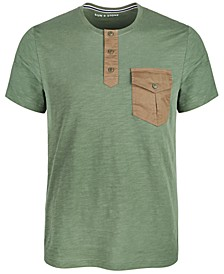 Men's Utility Henley, Created for Macy's