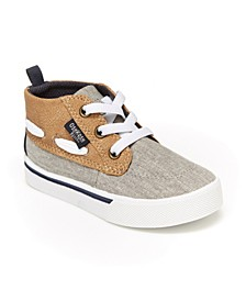 B'Gosh Toddler Boys Barclay Casual High Top Shoe