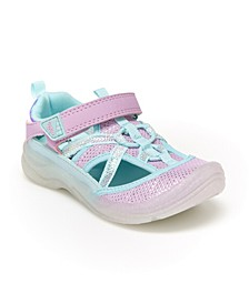 B'Gosh Toddler Girls Electra Bump Toe Sandal