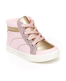 B'Gosh Little Girls Chika Casual High Top Shoe