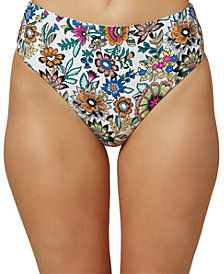 O'Neill Juniors' Priscilla High-Waist Bikini Bottoms