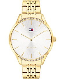 Women's Gold-Tone Bracelet Watch 36mm