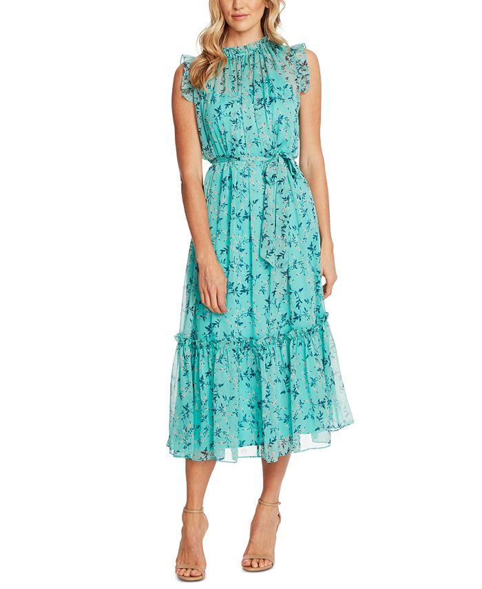 CeCe - Floral Midi Dress