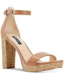Dempsey Two-Piece Platform Sandals