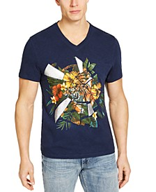 INC Men's Balast Graphic T-Shirt, Created for Macy's