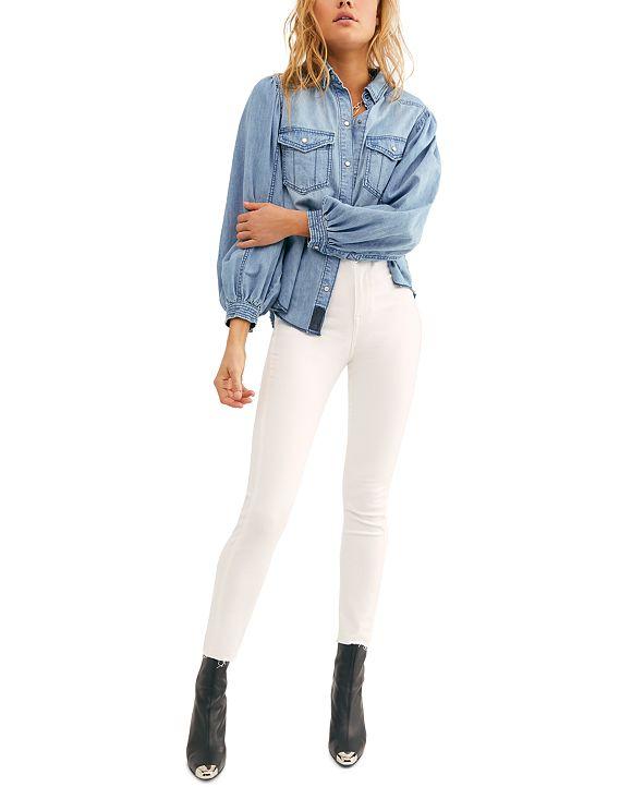 Free People Miles Away Skinny Jeans