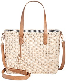 Small Straw Tote, Created for Macy's