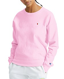Women's Essential Reverse Weave Fleece Sweatshirt