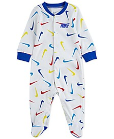 Baby Boys Logo Footie
