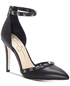 Prinella Ankle-Strap Pumps
