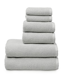 Textured Franklin 6-Pc. Cotton Towel Set