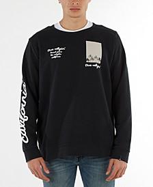 Men's Fleece Palm Tree Sweatshirt