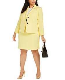 Colorblocked Dress and Blazer