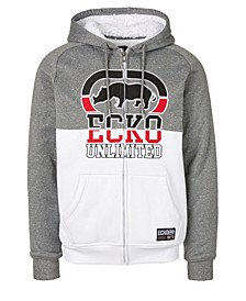 Men's Rhino Blocked Full Zip Sherpa Hoodie