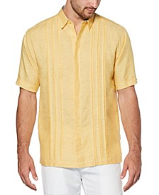 Men's Cross-Dye Linen Shirt
