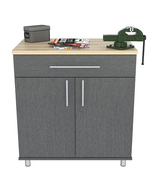 Inval America Kratos 1 Drawer and 2 Door Garage Cabinet
