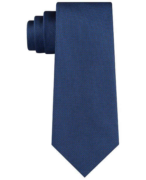 Kenneth Cole Reaction Men's Tiny Pixel Solid Tie