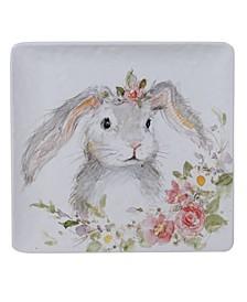Sweet Bunny Square Platter