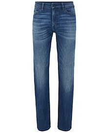 BOSS Men's Maine Medium Blue Jeans